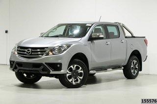 2018 Mazda BT-50 MY18 GT (4x4) Silver 6 Speed Automatic Dual Cab Utility.