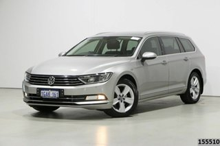 2016 Volkswagen Passat 3C MY16 132 TSI Silver 7 Speed Auto Direct Shift Wagon.