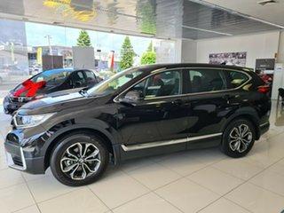 2020 Honda CR-V RW MY21 VTi FWD X Crystal Black 1 Speed Constant Variable Wagon.