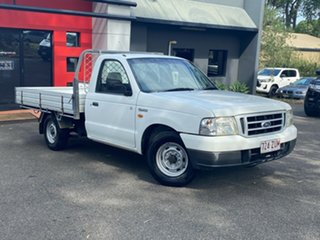 2003 Ford Courier PG GL 4x2 White 5 Speed Manual Cab Chassis