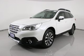 2017 Subaru Outback MY17 2.5i AWD White Continuous Variable Wagon.