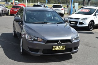 2011 Mitsubishi Lancer CJ MY11 SX Sportback Grey 6 Speed Constant Variable Hatchback.