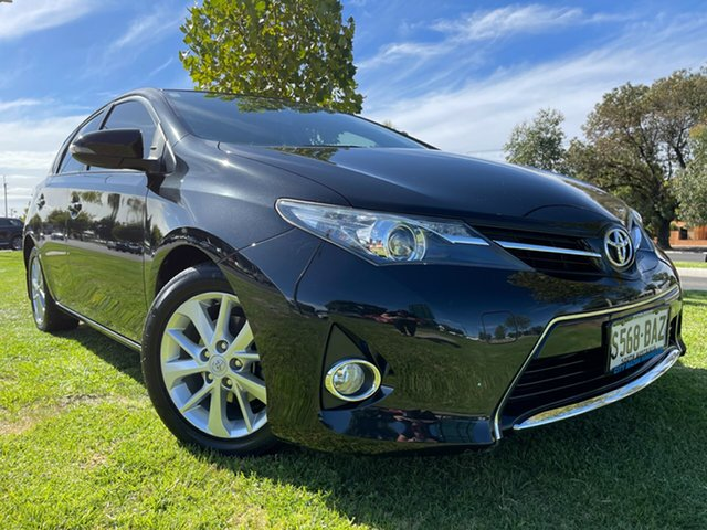 Used Toyota Corolla ZRE182R Ascent Sport S-CVT Hindmarsh, 2014 Toyota Corolla ZRE182R Ascent Sport S-CVT Black 7 Speed Constant Variable Hatchback