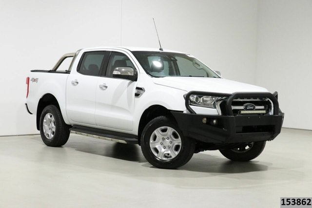 Used Ford Ranger PX MkII MY17 XLT 3.2 (4x4) Bentley, 2017 Ford Ranger PX MkII MY17 XLT 3.2 (4x4) White 6 Speed Automatic Double Cab Pick Up