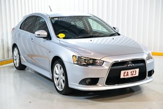 2015 Mitsubishi Lancer CJ MY15 GSR Sportback Silver 6 Speed Constant Variable Hatchback