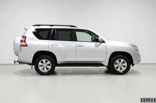 2015 Toyota Landcruiser Prado KDJ150R MY14 GXL (4x4) Silver 5 Speed Sequential Auto Wagon