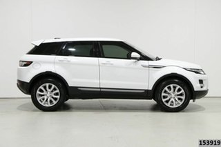 2014 Land Rover Evoque LV MY15 TD4 Pure White 9 Speed Automatic Wagon