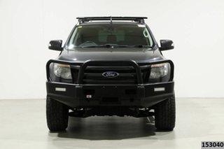 2014 Ford Ranger PX Wildtrak 3.2 (4x4) Graphite 6 Speed Manual Crew Cab Utility.