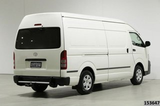 2013 Toyota HiAce KDH221R MY12 Upgrade SLWB White 5 Speed Manual Van
