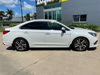 2018 Subaru Liberty B6 MY18 2.5i CVT AWD Premium White/170418 6 Speed Constant Variable Sedan.