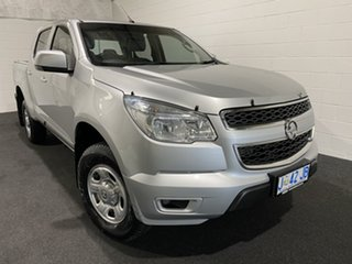 2015 Holden Colorado RG MY15 LS Crew Cab Silver 6 Speed Sports Automatic Utility