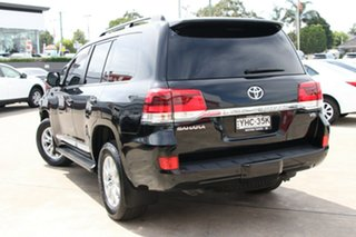 2017 Toyota Landcruiser VDJ200R Sahara Eclipse Black 6 Speed Automatic Wagon
