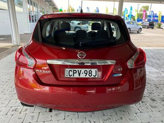 2013 Nissan Pulsar C12 ST Red Constant Variable Hatchback
