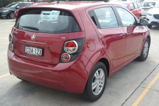 2013 Holden Barina TM MY13 CD Red 6 Speed Automatic Hatchback