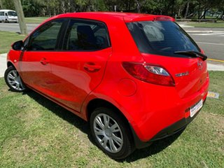 2011 Mazda 2 DE10Y1 MY10 Neo Red 4 Speed Automatic Hatchback