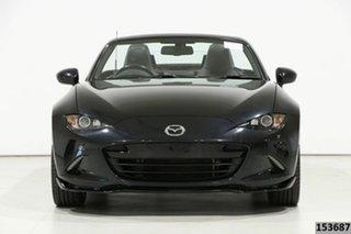2016 Mazda MX-5 ND (K) MY17 Roadster GT Black 6 Speed Manual Convertible.