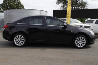 2011 Holden Cruze JG CDX Black 6 Speed Sports Automatic Sedan.
