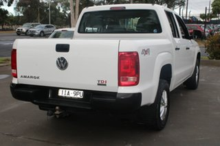 2015 Volkswagen Amarok 2H MY15 TDI420 Core Edition (4x4) White 8 Speed Automatic Dual Cab Utility