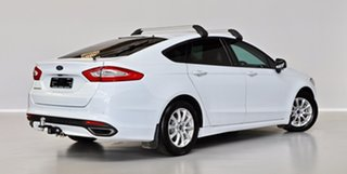 2016 Ford Mondeo MD Ambiente White 6 Speed Sports Automatic Dual Clutch Hatchback.