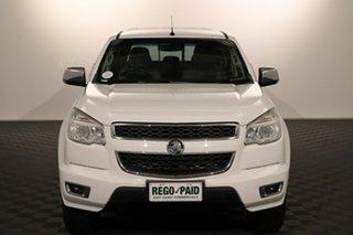 2015 Holden Colorado RG MY15 LTZ Crew Cab 4x2 White 6 speed Manual Utility.