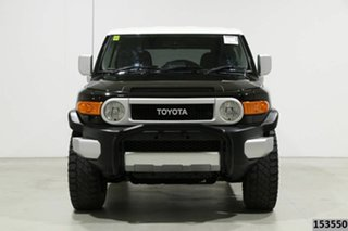 2015 Toyota FJ Cruiser GSJ15R MY14 Black 5 Speed Automatic Wagon.