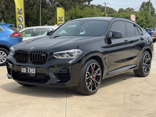 Used BMW X4 M Competition Goulburn, 2020 BMW X4 M Competition Black Sports Automatic Wagon