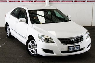 2008 Toyota Aurion GSV40R AT-X Diamond White 6 Speed Auto Sequential Sedan.