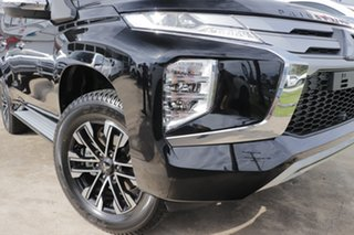 2021 Mitsubishi Pajero Sport QF MY21 GLS Pitch Black 8 Speed Sports Automatic Wagon.