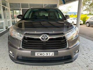 2015 Toyota Kluger GSU55R GXL (4x4) 6 Speed Automatic Wagon.