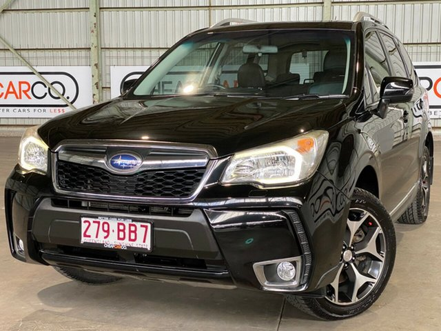 Used Subaru Forester S4 MY13 XT Lineartronic AWD Rocklea, 2013 Subaru Forester S4 MY13 XT Lineartronic AWD Black 8 Speed Constant Variable Wagon