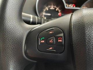 2017 Mazda BT-50 UR0YE1 XT 4x2 Silver, Chrome 6 Speed Manual Cab Chassis