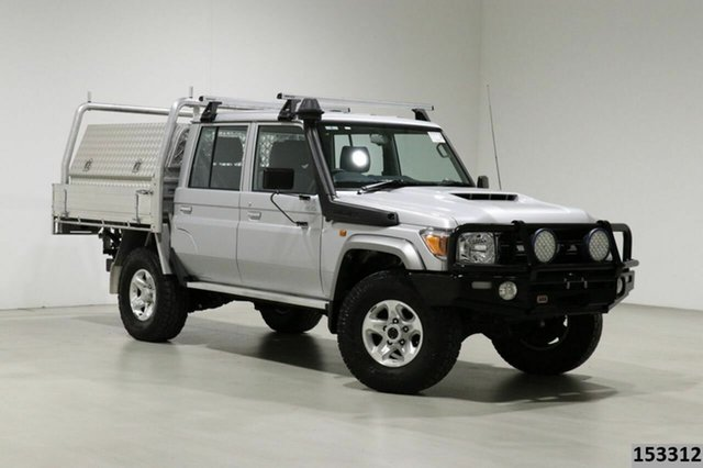 Used Toyota Landcruiser VDJ79R GXL (4x4) Bentley, 2019 Toyota Landcruiser VDJ79R GXL (4x4) Silver 5 Speed Manual Double Cab Chassis
