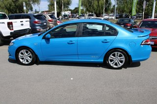 2008 Ford Falcon FG XR6 Blue 5 Speed Sports Automatic Sedan
