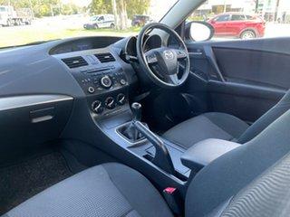 2012 Mazda 3 BL10F2 Maxx Sport White 6 Speed Manual Sedan