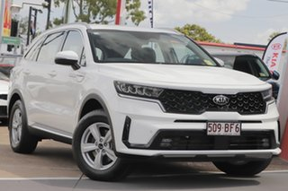 2020 Kia Sorento MQ4 MY21 S AWD Clear White 8 Speed Sports Automatic Dual Clutch Wagon.