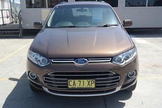 2013 Ford Territory SZ TS Seq Sport Shift Brown 6 Speed Sports Automatic Wagon.