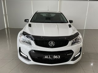 2016 Holden Commodore VF II MY16 SS Black White 6 Speed Sports Automatic Sedan
