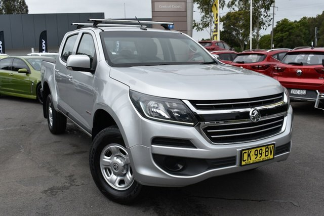 Used Holden Colorado RG MY17 LS Pickup Crew Cab 4x2 Tuggerah, 2017 Holden Colorado RG MY17 LS Pickup Crew Cab 4x2 Silver 6 Speed Sports Automatic Utility