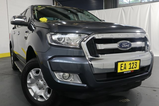 Used Ford Ranger PX MkII XLT 3.2 Hi-Rider (4x2) Castle Hill, 2016 Ford Ranger PX MkII XLT 3.2 Hi-Rider (4x2) Grey 6 Speed Automatic Crew Cab Pickup