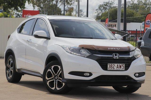 Used Honda HR-V MY17 VTi-L Bundamba, 2018 Honda HR-V MY17 VTi-L White 1 Speed Constant Variable Hatchback