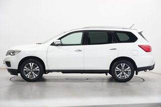 2018 Nissan Pathfinder R52 Series II MY17 ST X-tronic 4WD Ivory Pearl 1 Speed Constant Variable.