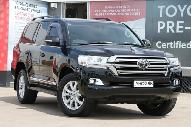 Pre-Owned Toyota Landcruiser VDJ200R Sahara Guildford, 2017 Toyota Landcruiser VDJ200R Sahara Eclipse Black 6 Speed Automatic Wagon