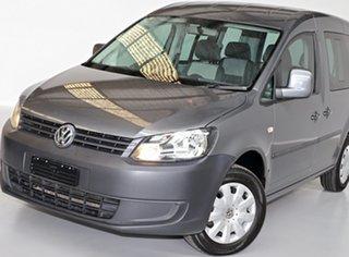 2013 Volkswagen Caddy 2K MY13 TDI250 SWB DSG Trendline Grey 7 Speed Sports Automatic Dual Clutch
