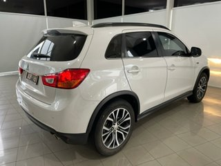 2017 Mitsubishi ASX XC MY17 LS 2WD White 6 Speed Constant Variable Wagon.