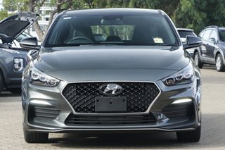2020 Hyundai i30 PD.V4 MY21 N Line D-CT Amazon Gray 7 Speed Sports Automatic Dual Clutch Hatchback