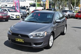 2011 Mitsubishi Lancer CJ MY11 SX Sportback Grey 6 Speed Constant Variable Hatchback