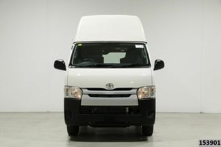 2018 Toyota HiAce TRH201R MY16 LWB White 6 Speed Automatic Van.
