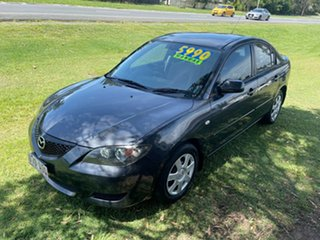 2005 Mazda 3 BK10F1 Neo Grey 5 Speed Manual Sedan.