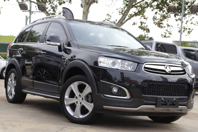 Used Holden Captiva CG MY15 7 AWD LTZ Toowoomba, 2015 Holden Captiva CG MY15 7 AWD LTZ Black 6 Speed Sports Automatic Wagon