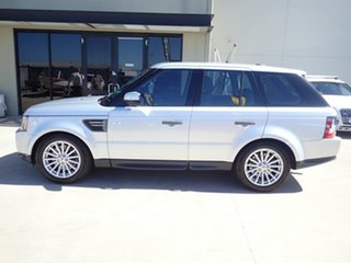 2011 Land Rover Range Rover Sport L320 11MY TDV6 Luxury Silver Birch 6 Speed Sports Automatic Wagon